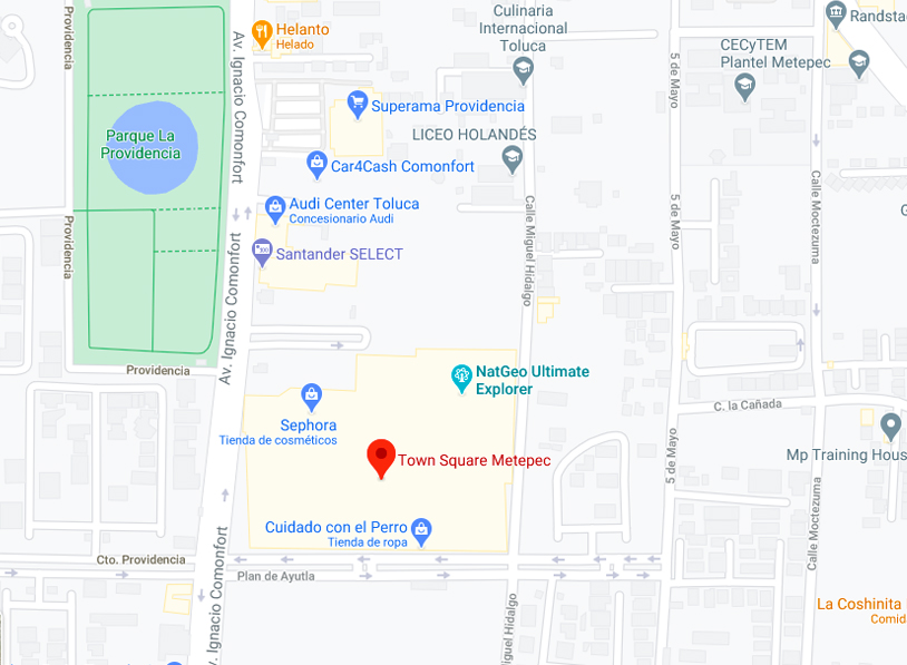 Town Square Metepec - Google Maps